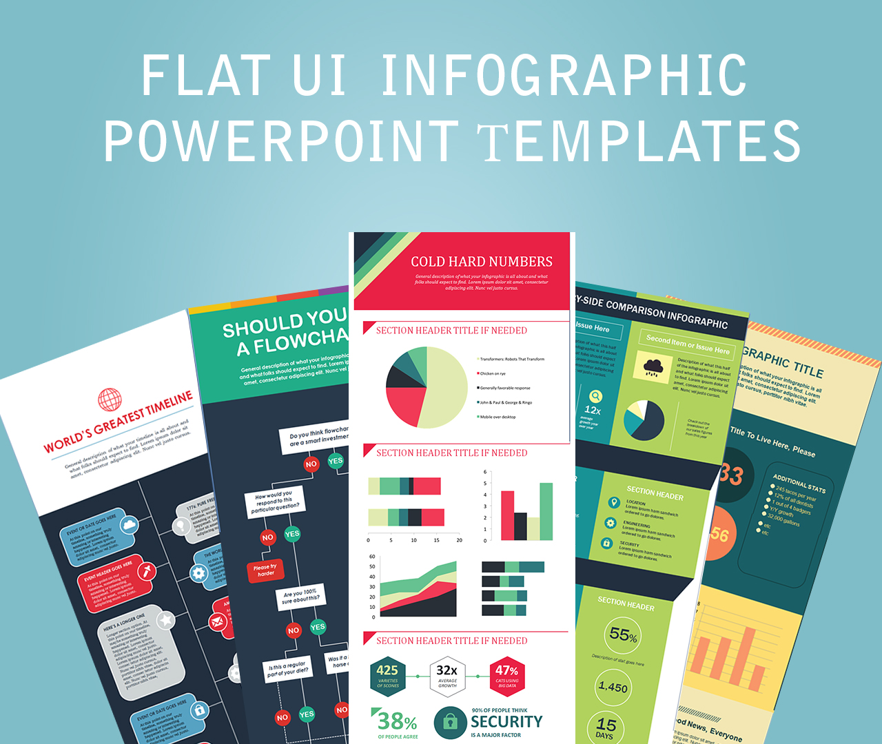 Flat-UI--Infographic-PowerPoint-Тemplates